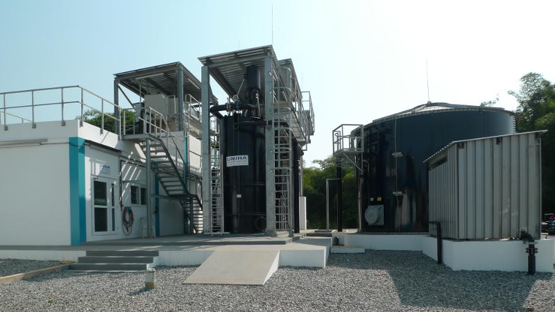 Treatment Plant 1000 m³/d